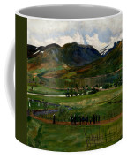 A Funeral Day In Jolster Coffee Mug