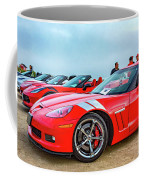 A Gaggle Of Vettes Coffee Mug