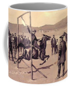 A Gander Pull 1894 Coffee Mug