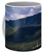 A Gas Drilling Rig At The Foot Coffee Mug by Joel Sartore
