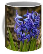 A Gathering Of Blues Coffee Mug