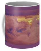 A Gathering Of Clouds At Sunset Coffee Mug