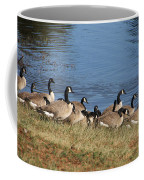 A Gathering Of Geese Coffee Mug