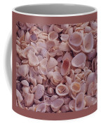 A Gathering Of Sea Shells In Sanibel Coffee Mug