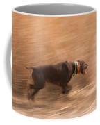 A German Shetland Hunts For Pheasant Coffee Mug