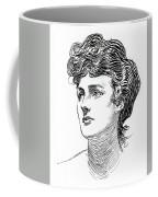 A Gibson Girl By Charles Dana Gibson Coffee Mug