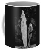 A Girl And Her Gun. Coffee Mug