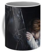 A Girl Who Loves Horses Coffee Mug