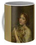 A Girl With A Lamb Coffee Mug