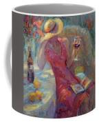 A Glass Of Red Coffee Mug