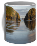 A Glossy Beach Coffee Mug