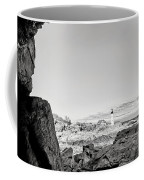 A Glimpse Of The Lighthouse Coffee Mug