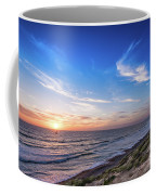 A Glorious Sunset At North Ponto, Carlsbad State Beach Coffee Mug