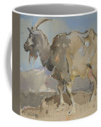 A Goat By Joseph Crawhall 1861-1913 Coffee Mug
