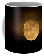 A Golden Super Moon On The Rise  Coffee Mug
