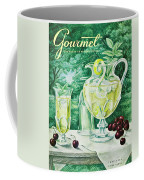 A Gourmet Cover Of Glassware Coffee Mug