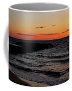 A Grand Beach Sunset Coffee Mug