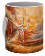 A Great Texas Longhorn Steer Inspired The Bevo Song Coffee Mug