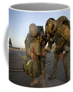 A Green Beret Inspects The Gear Coffee Mug