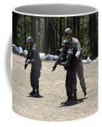 A Green Beret Instructs Tigres Trainees Coffee Mug