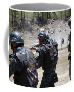 A Green Beret Walks With Tigres Coffee Mug