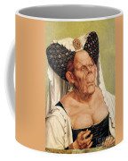 A Grotesque Old Woman Coffee Mug