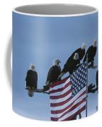 A Group Of Northern American Bald Coffee Mug