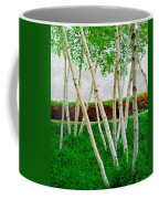 A Grove Of Birches 1 Coffee Mug