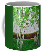 A Grove Of Birches 2 Coffee Mug