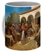A Gypsy Dance In The Gardens Of Alcazar Coffee Mug
