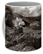 A Hard Existence - Sepia Coffee Mug