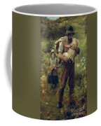A Heavy Burden Coffee Mug by Arthur Hacker