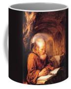 A Hermit Praying 1670 Coffee Mug