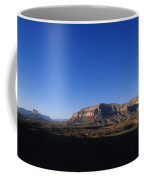 A Hiker Overlooks Tuckup Canyon Coffee Mug