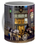 A Holiday Ride Coffee Mug