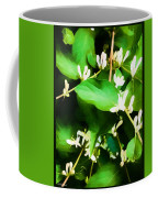 A Honeysuckle Painting Coffee Mug