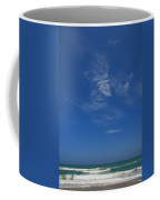 A Hot Afternoon At The Beach Coffee Mug by Susanne Van Hulst