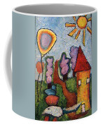 A House And A Mouse Coffee Mug