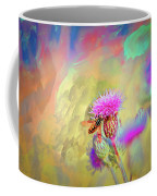 A Hoverfly On Abstract #h3 Coffee Mug