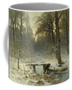 A January Evening In The Woods Coffee Mug