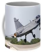 A Jas-39 Gripen Of The Swedish Air Coffee Mug