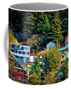 A Juneau Hillside  Coffee Mug