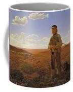 A Jutland Sheperd On The Moors Coffee Mug
