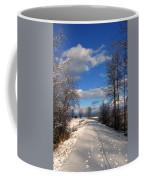A Kootenai Wildlife Refuge Winter Coffee Mug