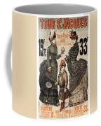 A La Tour St.jacques - Rue De Rivoli - Vintage Fashion Advertising Poster - Paris, France Coffee Mug