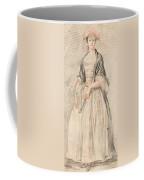A Lady With A Fan Coffee Mug