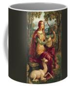 A Lady With A Unicorn Coffee Mug