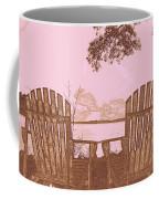 A Lake Murray Sc Sketch Coffee Mug