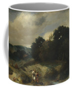 A Landscape With Tobias And The Angel Coffee Mug