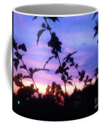 A Lighter Side Of A Sunset Coffee Mug